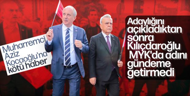 Kılıçdaroğlu Aziz Kocaoğlu'nun ismini gündeme getirmedi