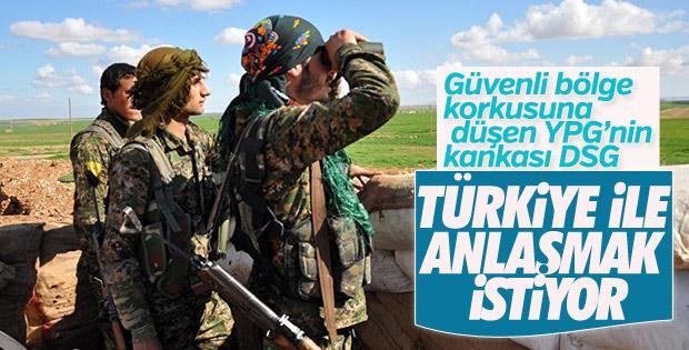YPG'ye bağlı olan DSG Türkiye ile anlaşmak istiyor