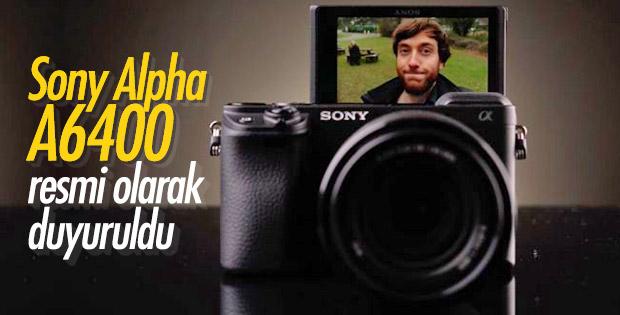 Sony Alpha A6400 resmi olarak duyuruldu