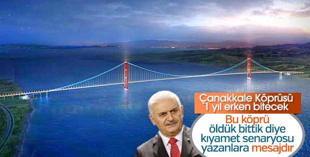 1915 Çanakkale Köprüsü 2022'de açılacak