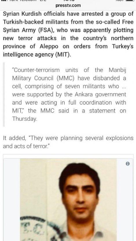 İran Türk ajan diye Polat Alemdar'ın fotoğrafını paylaştı
