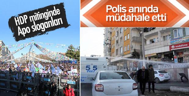 HDP'nin mitingi sonrası gerginlik