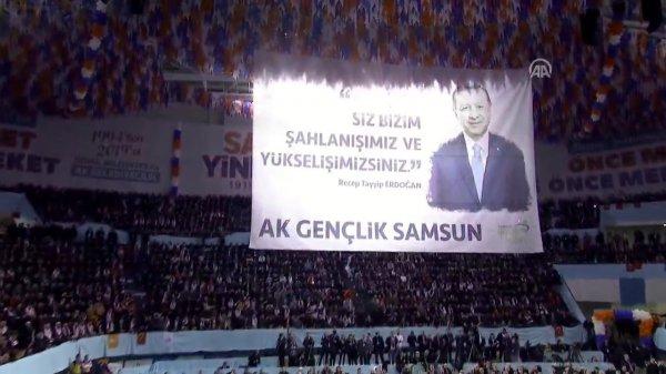 Erdoğan AK Parti Samsun adaylarını açıkladı