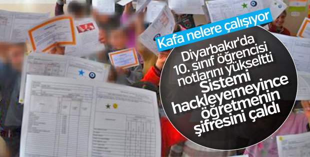 Diyarbakır'daki öğrencinin, öğretmeninin şifresini kullandığı ortaya çıktı