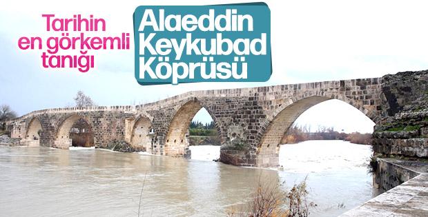 Tarihe meydan okuyan yapı:  Alaeddin Keykubad Köprüsü