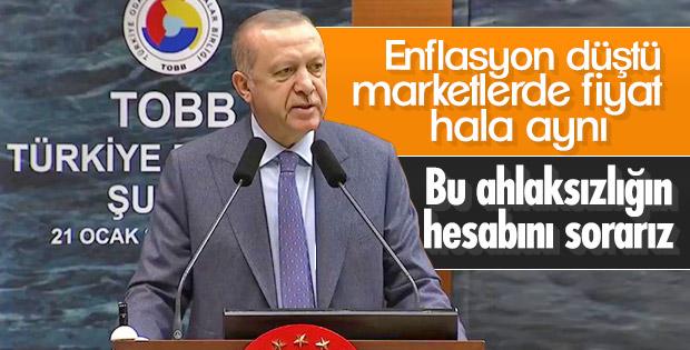 Cumhurbaşkanı Erdoğan Ekonomi Şurası'nda