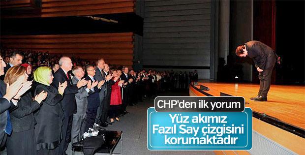 CHP'den Fazıl Say yorumu