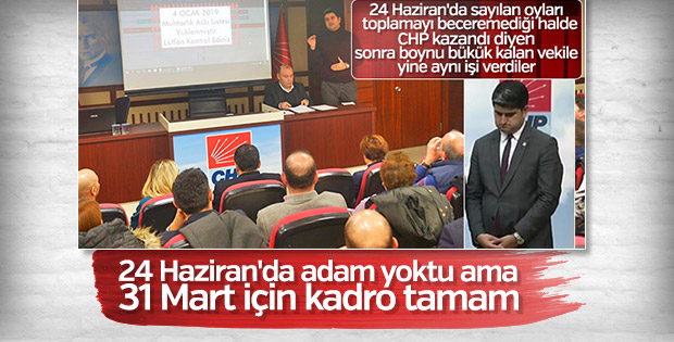 CHP oyları doğru sayma konusunda bu kez iddialı