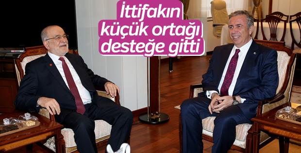 Mansur Yavaş, Karamollaoğlu'nun desteğini istedi