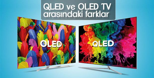 QLED ve OLED TV arasındaki farklar