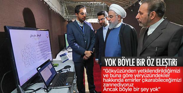 Ruhani: Kamuoyu iradesine karşı savaşamayız
