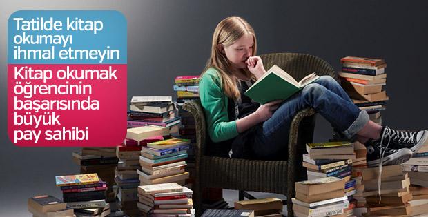 Yarıyıl tatilinde kitap okumayı unutmayın