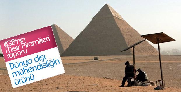 KGB Mısır Piramitleri'nin gizemini araştırdı