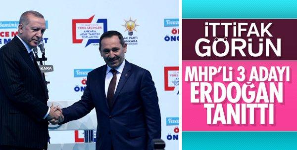 MHP AK Parti'nin adaylarını tanıtacak