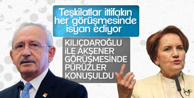 Kılıçdaroğlu Akşener'le görüştü