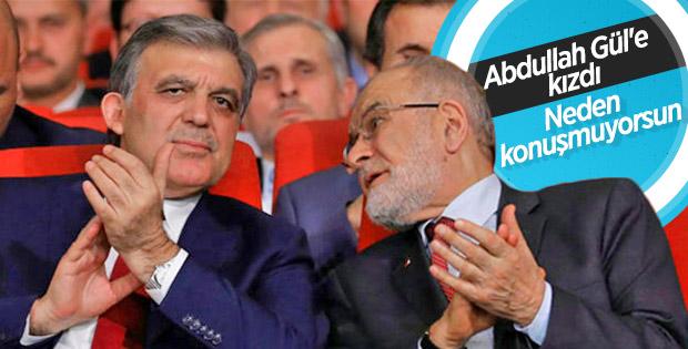 Karamollaoğlu'ndan Abdullah Gül'e sitem