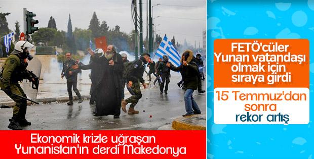 Yunanistan'a iltica için 6 bin Türk başvurdu