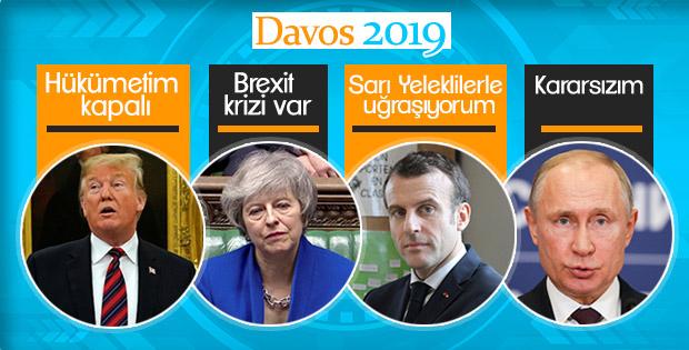 Davos Zirvesi dünya liderlerinden yoksun kaldı