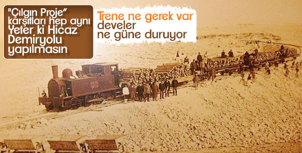 Vakanüvis Hicaz Demiryolu'nu yazdı
