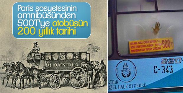 Bundan 200 yıl önce halk otobüsüne binmek bir lükstü