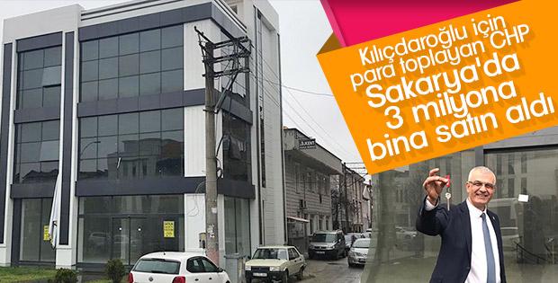 CHP Sakarya'da yeni bina satın aldı