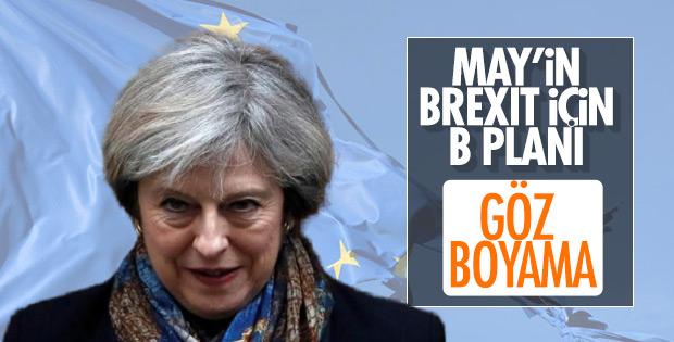 May'in Brexit için B planı hazır