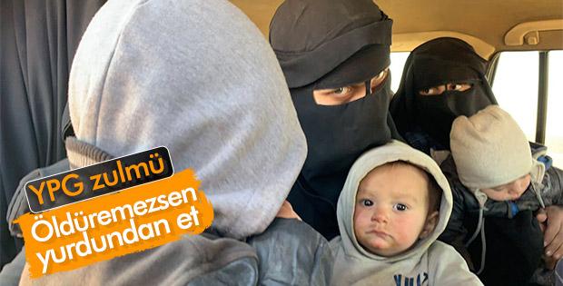 YPG Deyrizor'da sivilleri göç ettiriyor