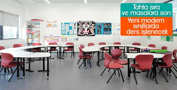 Geleneksel sınıflar yerine üç boyutlu sınıflar geliyor