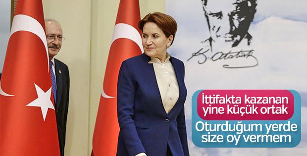 Akşener'le Kılıçdaroğlu arasında Üsküdar krizi