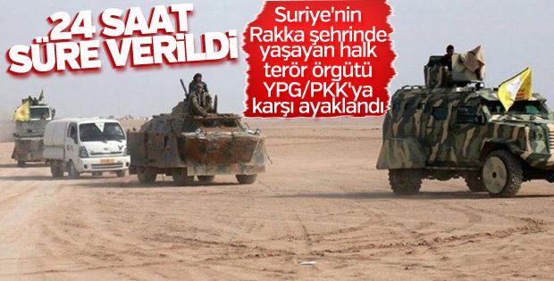 Rakka PKK'ya 24 saat süre verdi