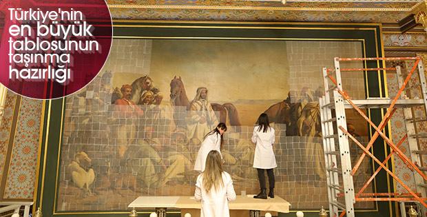 Çölde Av tablosu Resim Müzesi'ne taşınacak