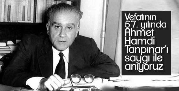 Vefatının 57. yılında Ahmet Hamdi Tanpınar'ı saygı ile anıyoruz