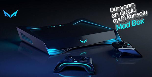 Dünyanın en güçlü oyun konsolu: Mad Box
