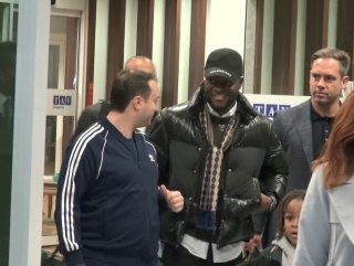 Victor Moses İstanbul'da