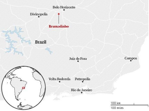 Brezilya'da baraj felaketi: 50 ölü 300 kayıp