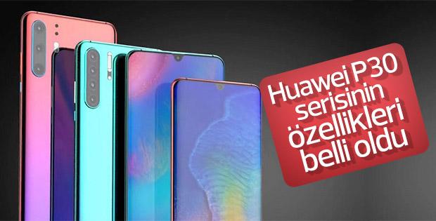Huawei P30 serisinin özellikleri belli oldu