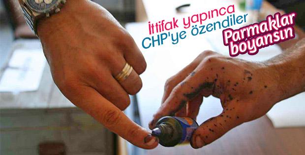 İP'den 'parmak boyası' kanun teklifi