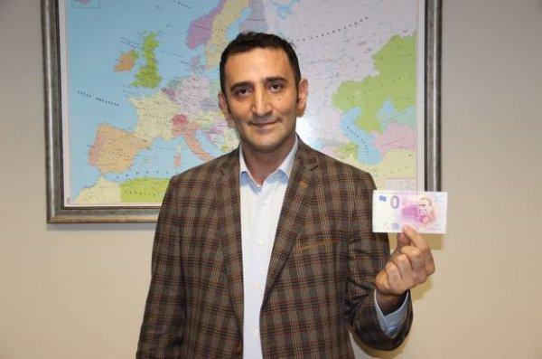 Avrupa Merkez Bankası Atatürk resimli euro bastı