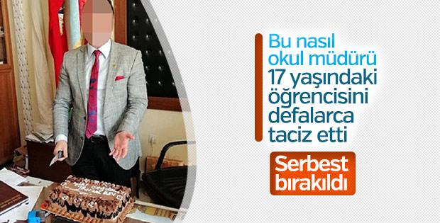 İzmir'de okul müdürünün tacizi telefonla açığa çıktı