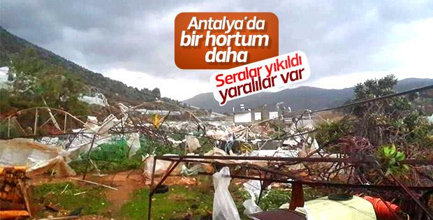 Antalya'da yeniden hortum oluştu