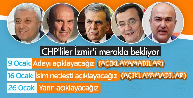 CHP'nin İzmir adayının yarın açıklanması bekleniyor