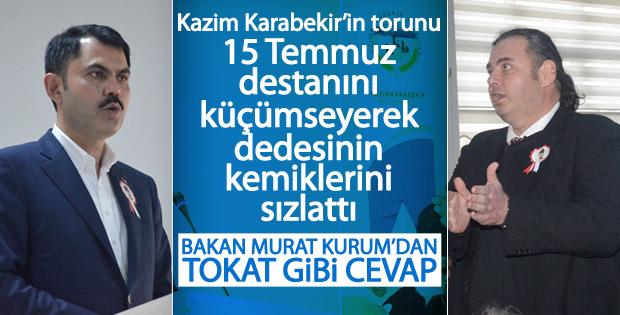 Kazım Karabekir'in torununun 15 Temmuz rahatsızlığı