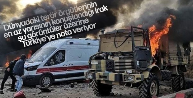 Irak Türkiye'yi kınamaya kalktı