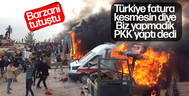 Barzani: Sivil ölümlerin nedeni PKK