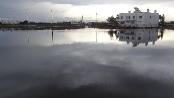 Edremit Haberleri: Edremit ve Burhaniyede, tarım arazileri su altında kaldı 32