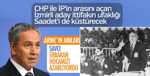 Tunç Soyer'in babası Nurettin Soyer Erbakan'ı azarlıyordu