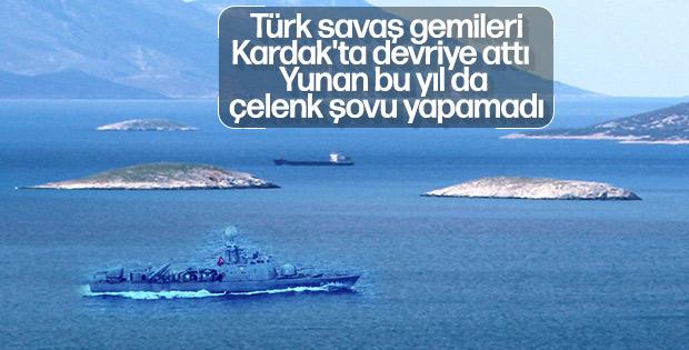Yunanistan Kardak'a yaklaştırılmadı