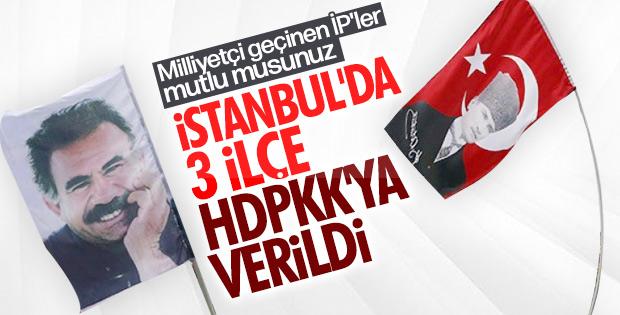 CHP İstanbul'da HDP'yi ödüllendirdi