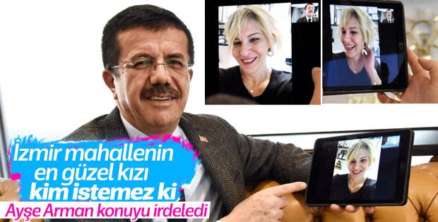 Nihat Zeybekci'nin İzmirli seçmene şirin görünme çabası