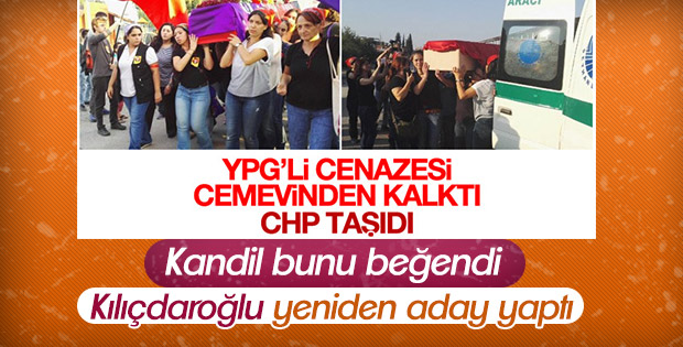 Terörist cenazesi kaldıran CHP'li belediye başkanı aday